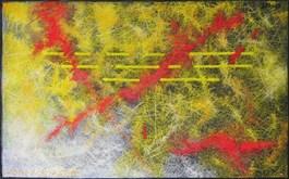 Obraz do salonu artysty Aleksander Marek Korman pod tytułem Konfrontacje