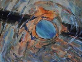 Obraz do salonu artysty Dorota Zych-Charaziak pod tytułem Pływaczka