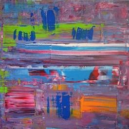 Obraz do salonu artysty Dominik Smolik pod tytułem Sfumato I