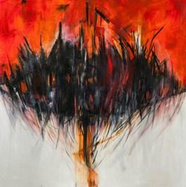 Obraz do salonu artysty Iza Kostiukow pod tytułem Widnokrąd