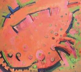 Obraz do salonu artysty Joanna Plakiewicz pod tytułem Płastruga