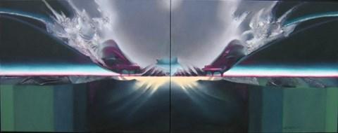 Obraz do salonu artysty Alina Dorada-Krawczyk pod tytułem Constans (dyptyk)