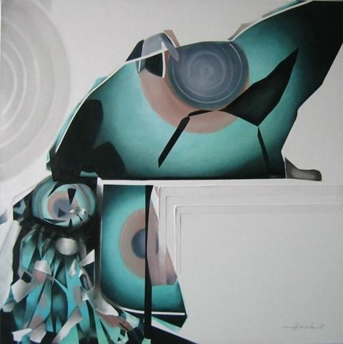 Obraz do salonu artysty Alina Dorada-Krawczyk pod tytułem Beztroska