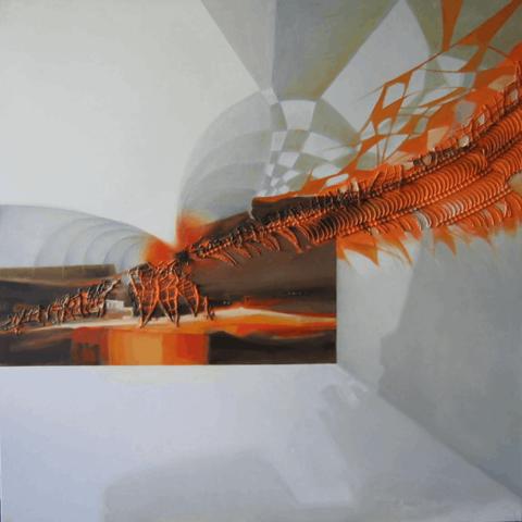 Obraz do salonu artysty Alina Dorada-Krawczyk pod tytułem Pora słoneczników