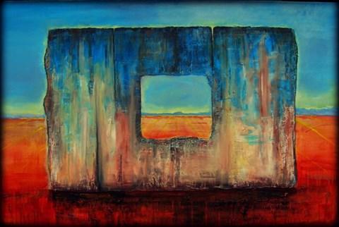 Obraz do salonu artysty Sabina Maria Grzyb pod tytułem Brama do Elizjum
