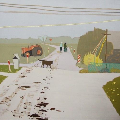 Obraz do salonu artysty Magdalena Jędrzejczyk pod tytułem Bialy