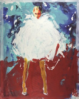Obraz do salonu artysty Szymon Kaczmarek pod tytułem Bloom