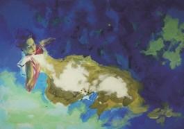 Obraz do salonu artysty Szymon Kaczmarek pod tytułem Nymph