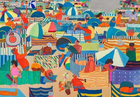 Obraz do salonu artysty Marek Konatkowski pod tytułem Plaża