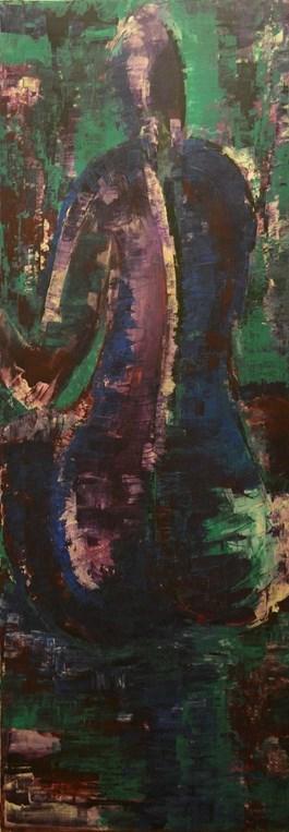 Obraz do salonu artysty Magdalena Malinowska pod tytułem Three views 1