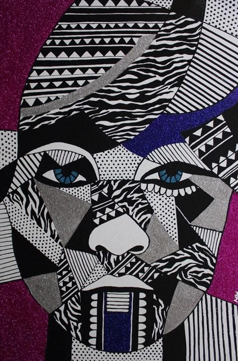 Obraz do salonu artysty Monika Mrowiec pod tytułem Abstrakcyjne