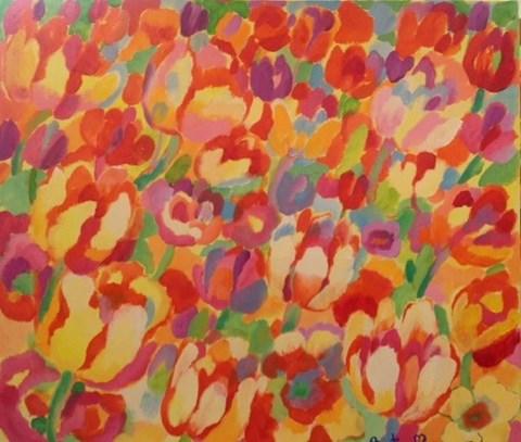 Obraz do salonu artysty Beata Murawska pod tytułem Powiew wiosny