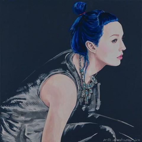 Obraz do salonu artysty Beata Nowakowska pod tytułem Miss water I