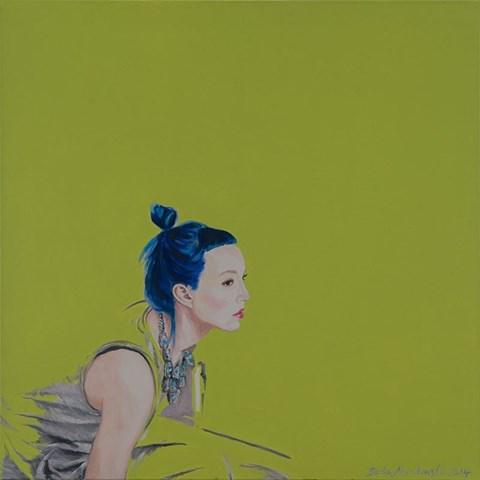 Obraz do salonu artysty Beata Nowakowska pod tytułem Miss water II