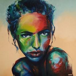 Obraz do salonu artysty Patrycja Nurkan pod tytułem Nurkan Pa