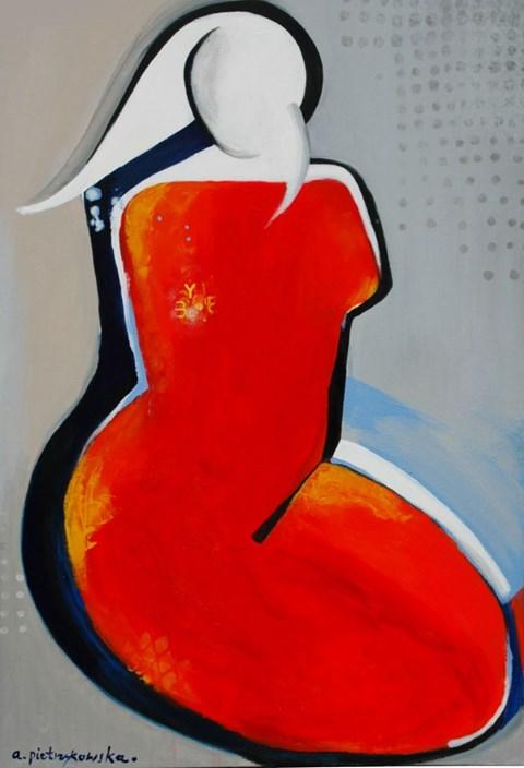 Obraz do salonu artysty Aga Pietrzykowska pod tytułem Believe in yourself