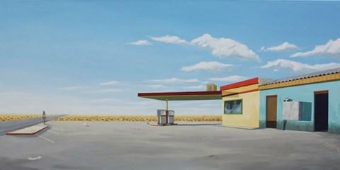 Obraz do salonu artysty Łukasz Ratajczyk pod tytułem Arrival