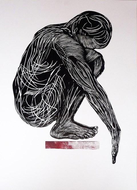 Obraz do salonu artysty Adam Sikorski pod tytułem Skoczek