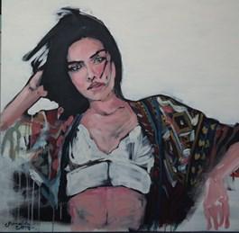 Obraz do salonu artysty Katarzyna Śmigielska pod tytułem Chusta