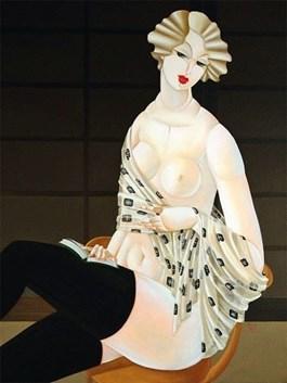 Obraz do salonu artysty Urszula Tekieli pod tytułem Tekieli U