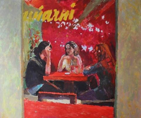 Obraz do salonu artysty Dorota Zych-Charaziak pod tytułem Przyjaciółki