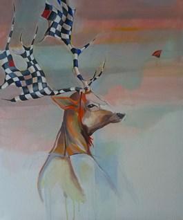 Obraz do salonu artysty Marta Szarek-Michalak pod tytułem Przebieraniec