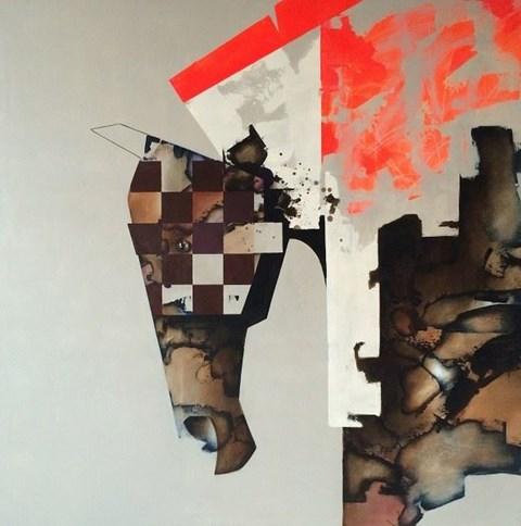 Obraz do salonu artysty Anna Zalewska pod tytułem Memory to hold