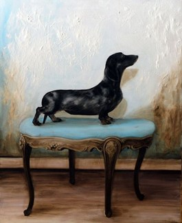 Obraz do salonu artysty Klaudia Choma pod tytułem Talent
