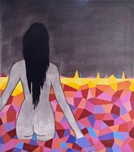 Obraz do salonu artysty Viola Tycz pod tytułem Wyświetlacz 8