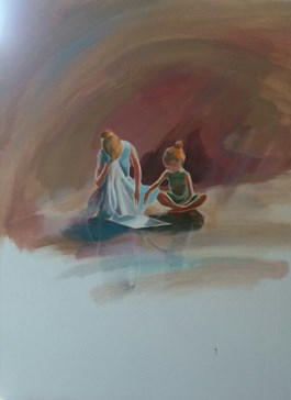 Obraz do salonu artysty Marta Szarek-Michalak pod tytułem Ty i ja