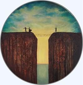 Obraz do salonu artysty Sabina Maria Grzyb pod tytułem Pasterka