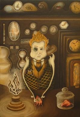 Obraz do salonu artysty Lena Sterk pod tytułem Zegarmistrz