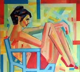 Obraz do salonu artysty Piotr Kachny pod tytułem Deep jewellery class