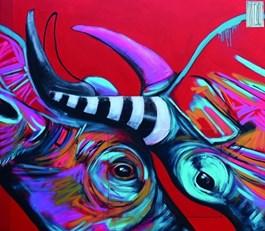 Obraz do salonu artysty Wojciech Brewka pod tytułem Fight