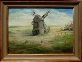 Obraz do salonu artysty Ryszard Radziwilski pod tytułem Wiatrak