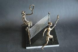Obraz do salonu artysty Daria Grajek pod tytułem Patynowany brąz