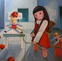 Obraz do salonu artysty Mirella Stern pod tytułem Masz rację kochanie