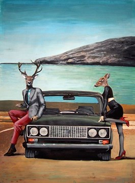 Obraz do salonu artysty Lech Bator pod tytułem Łada