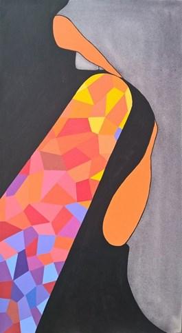 Obraz do salonu artysty Viola Tycz pod tytułem Wyświetlacz 2