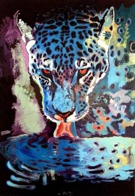 Obraz do salonu artysty Anna Stanisz pod tytułem Jagu