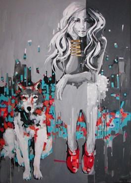 Obraz do salonu artysty Kamila Jarecka pod tytułem Coral