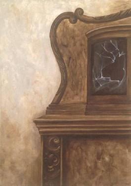 Obraz do salonu artysty Klaudia Choma pod tytułem Bez tytułu