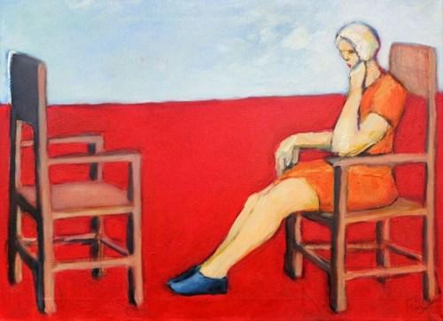 Obraz do salonu artysty Miro Biały pod tytułem Nadal czekam na Ciebie