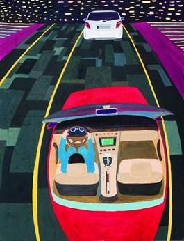 Obraz do salonu artysty Marek Konatkowski pod tytułem Journey