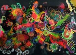Obraz do salonu artysty Patrycja Kruszynska-Mikulska pod tytułem Formy organiczne