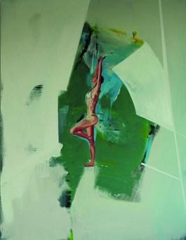 Obraz do salonu artysty Judyta Krawczyk pod tytułem Równowaga