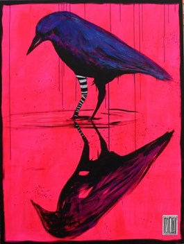 Obraz do salonu artysty Wojciech Brewka pod tytułem Narcyz