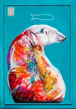 Obraz do salonu artysty Wojciech Brewka pod tytułem I have a dream