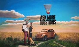 Obraz do salonu artysty Lech Bator pod tytułem Ask more