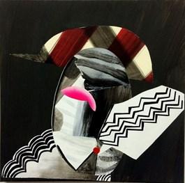 Obraz do salonu artysty Ivo Nikić pod tytułem Zzzzz